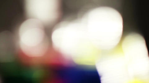 Colorful LIghts and Streaks 05 Stock Video Footage