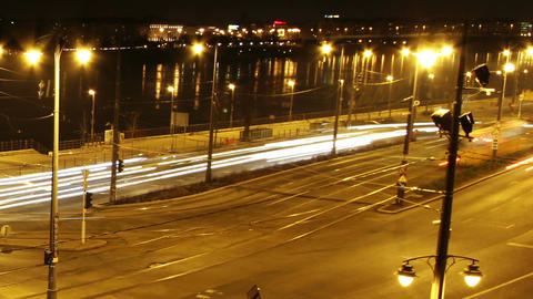 European City Timelapse 45 Stock Video Footage