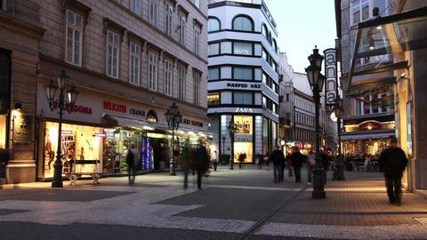 European City Timelapse 55 Stock Video Footage