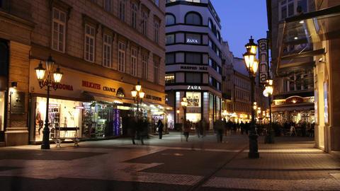 European City Timelapse 55 Footage