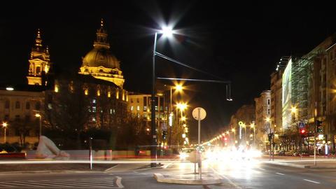 European City Timelapse 63 Stock Video Footage