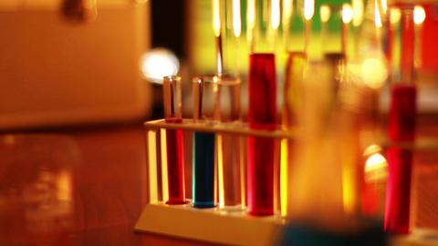 Laboratory CSI 06 dolly Stock Video Footage