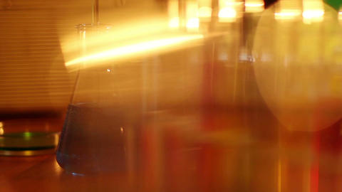 Laboratory CSI 12 dolly Stock Video Footage