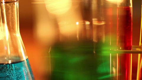 Laboratory CSI 14 dolly Stock Video Footage