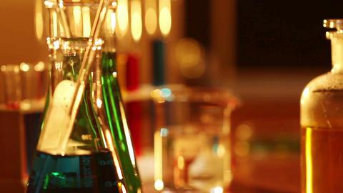 Laboratory CSI 18 dolly Stock Video Footage