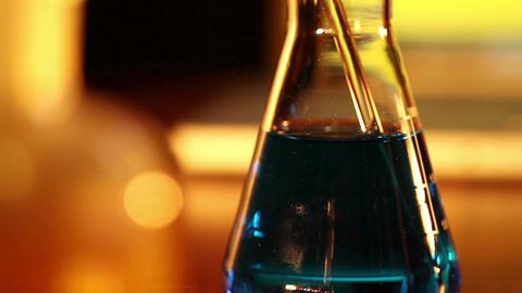 Laboratory CSI 38 dolly Stock Video Footage