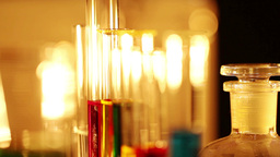 Laboratory CSI 44 focus change Stock Video Footage