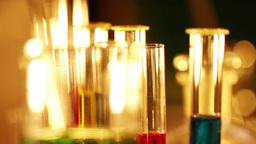 Laboratory CSI 46 focus change Stock Video Footage