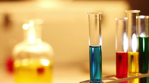 Laboratory CSI 54 dolly Stock Video Footage