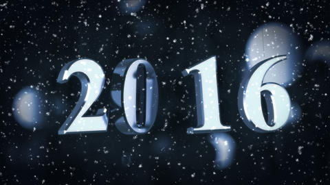 Year 2016 Animation