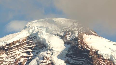 Horizontal Panoramic Mt Baker Heliotrope Ridge Cascade Range Footage