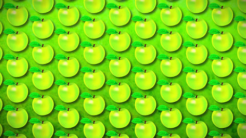 seamless pattern apple Animation