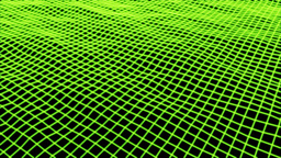 Background Green Grid Stock Video Footage