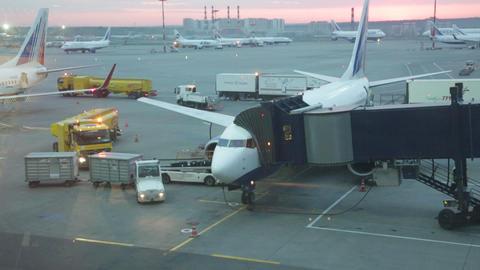 Preflight preparation of the plane Footage