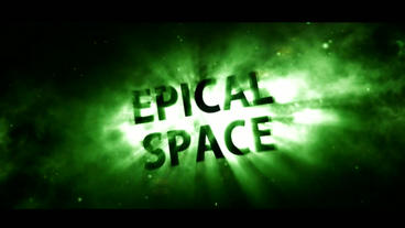 Epical Space Green Version After Effects Project