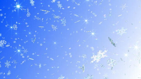 Snow Flake falling Aw 4k Animation