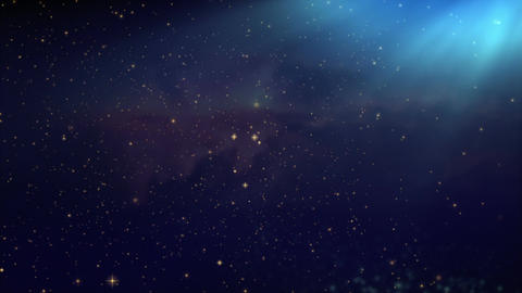 space nebula,universe fly through seamless looped background Animación