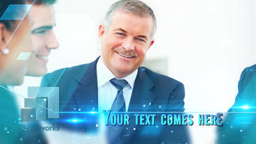 Corporate Glossy Presentation After Effects Template