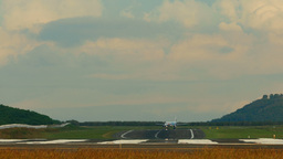 Taxiing before take-off Footage