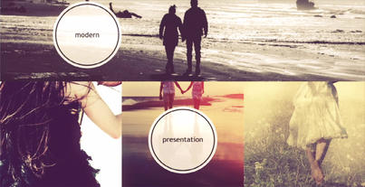 4K.Parallax 50 photo After Effects Template