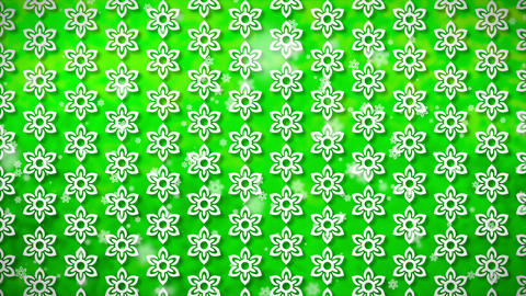 Wallpaper Flower, Loopable Motion Background, Soft Motion Seamless Pattern Flowe stock footage