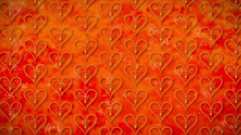 Wallpaper Heart, Loopable Motion Background, soft motion... Stock Video Footage