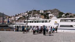Monemvasia Island, Greece stock footage