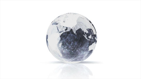 glass globe CG動画