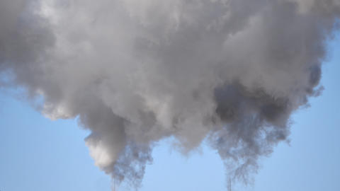 Industrial Smoke 3 stock footage