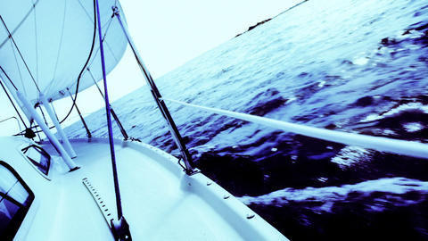 Sailingboat Footage