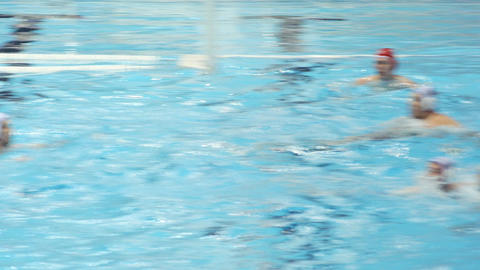 Water Polo Score 3 Footage