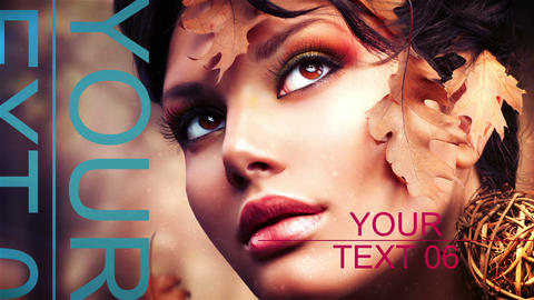 Typo Style Media Presentation After Effects Template
