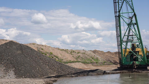 Gravel extraction Footage