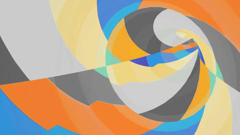 Color VJ tunnel background Animation
