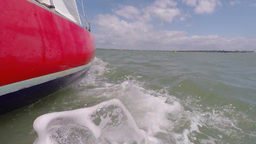 Yacht sailing Footage