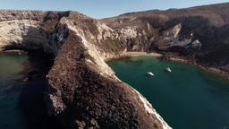 Santa Cruz Island, Potato Harbor stock footage