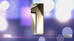 Lower Third 1,2,3, Animated Background stock footage