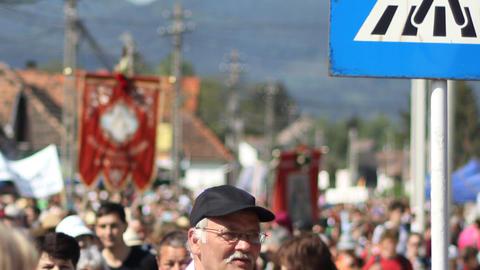 Catholic Pilgrimage Footage