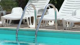 Pool Stairs Railing Footage