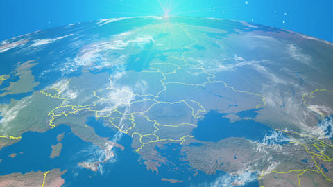 Space EU Footage