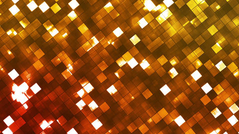 Broadcast Twinkling Fire Light Diamonds, Orange, Abstract, Loopable, HD Animation
