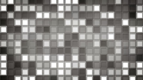 shimmering gray squares loopable background 4k (4096x2304) Animation