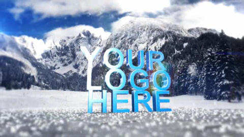 Christmas Logo After Effects Template