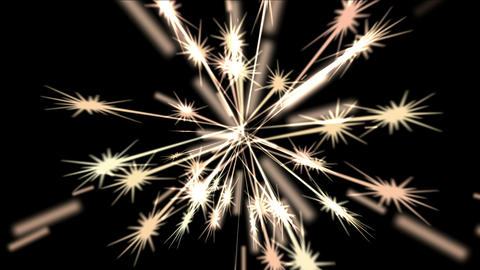 4k Abstract Ray Fireworks Light Stars Wedding Background,holiday Firecrackers stock footage
