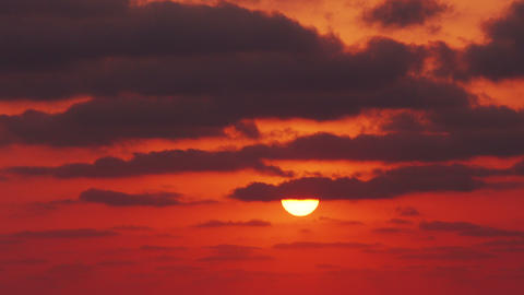 Ultra Hd 4K Morning Beautiful Sunrise Timelapse Footage