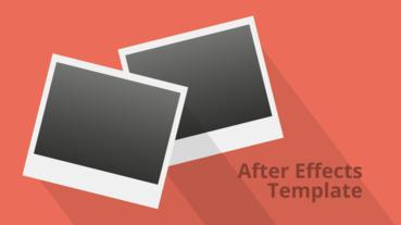 Falling Photos Slideshow - Retro After Effects Template After Effects Templates
