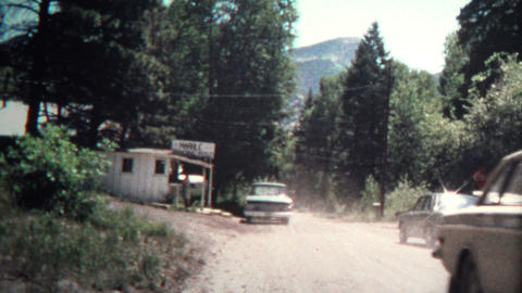 (8mm Vintage) 1974 Marble Colorado Trading Post Footage