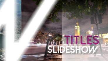 Titles Slideshow - After Effects Template After Effects Template