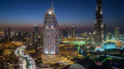 26561214 DUBAI TL Footage
