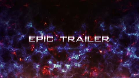 Into the Darc Epic Trailer After Effects Template